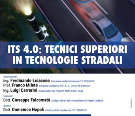 ITS 4.0: Tecnici superiori in tecnologie stradali